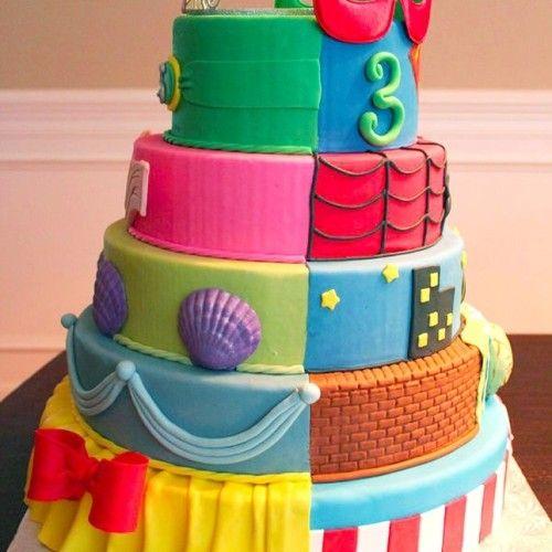 Идеи торта на день рождения близнецов