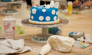 At the bakery from TLC's Cake Boss, top decorators teach guests to drape cakes in whimsical fondant shapes