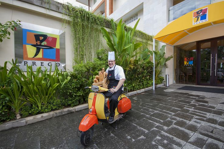 New Chef with passion for motorbikes appointed to head kitchen at #PregoBali.