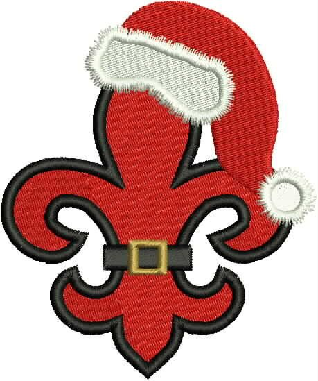 Hey, I found this really awesome Etsy listing at https://www.etsy.com/listing/118009094/santa-fleur-de-lis-new-orleans-louisiana