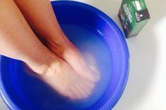 Körper entsäuern mit Kaiser Natron Fußbad