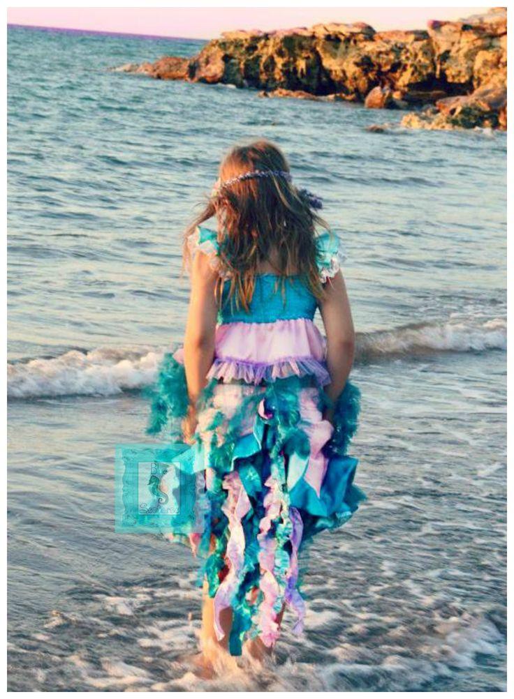 Blue Seahorse Mermaid Costume https://www.etsy.com/au/shop/BlueSeahorseHandmade