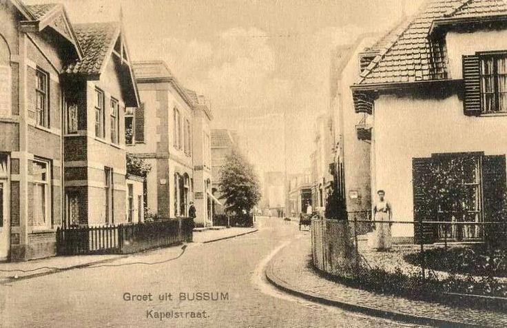 Kapelstraat Bussum