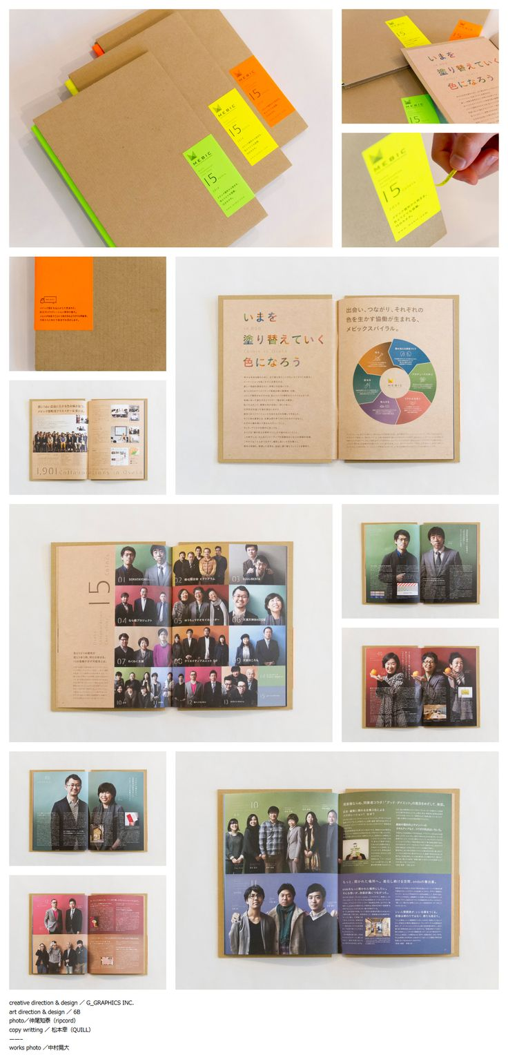 MEBIC/コラボ事例集2014 パンフレット