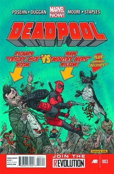 From Marvel: Deadpool #3 by Gerry Duggan, Tony Moore, Geof Darrow. Released December 5, 2012. Find it at your local comic book store/online store today! #marvel #deadpool #comics #comicbooks