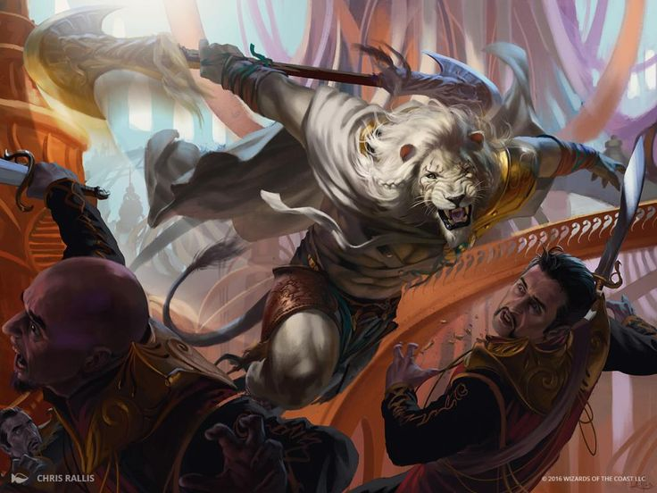 Impeccable Timing MtG Art by Chris Rallis