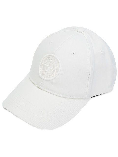 STONE ISLAND logo embroidery cap. #stoneisland #cap