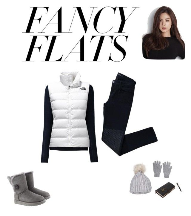 """cold soon"" by saraisyi on Polyvore featuring STELLA McCARTNEY, J Brand, The North Face, UGG, Miss Selfridge and Johnstons of Elgin"