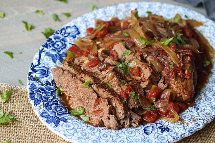 Paleo-Slow-Cooker-Brisket recipe {Paleo, Whole30, Gluten-Free, Clean Eating}
