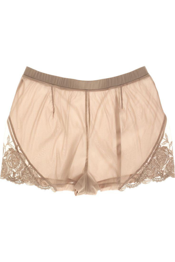 La PerlaSilk-blend culotte briefs