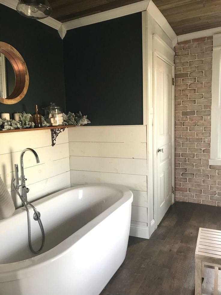 Die besten 25+ Dunkelgrüne badezimmer Ideen auf Pinterest - wasserfeste farbe badezimmer