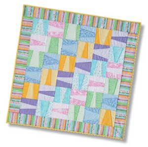 Toddle Time: FREE Baby Quilt Pattern Download from our sister publication, McCall's Quilting