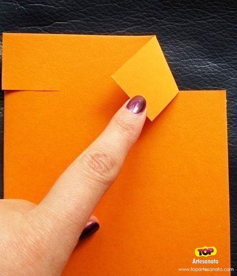 Cartão para Dia dos Pais - Artesanato - Modelo 2 - Passo 2