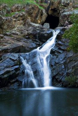 Goldfields Image Makers: Hepburn Springs - The Blowhole