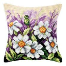 Daisy Pillow Cover Quickpoint™ Kit - Herrschners