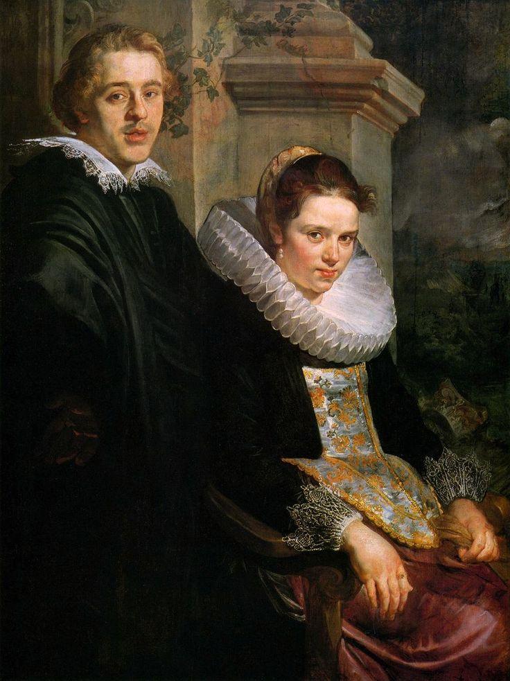 Πορτρέτο νεαρού ζευγαριού (1615-20) Μουσείο Καλώ Τεχνών Βοστόνης