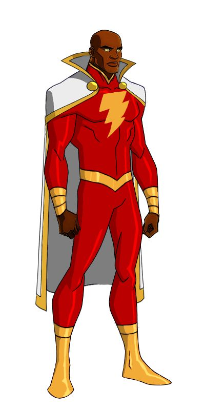 DC:New Earth Captain Marvel Animated by kyomusha.deviantart.com on @deviantART
