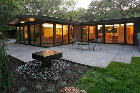 mid century modern inspirational-exteriors