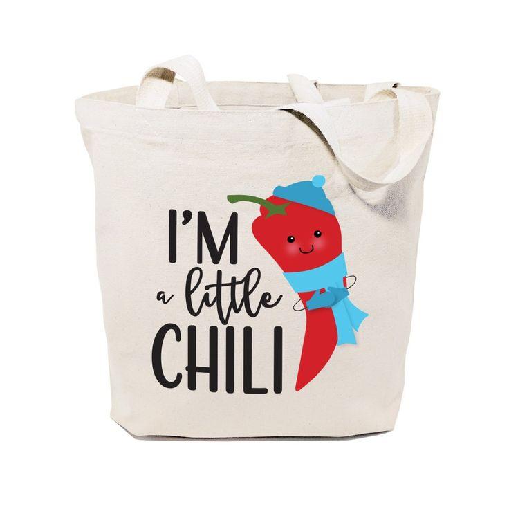 Cotton Canvas I'm A Little Chili Tote Bag – The Cotton and Canvas Co.