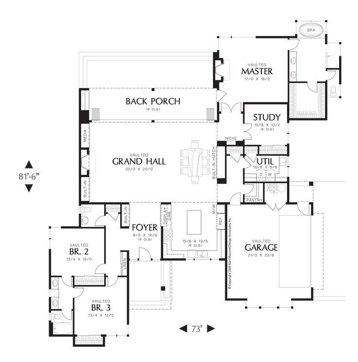 76 best L Shape house Plans images on Pinterest | House design ...