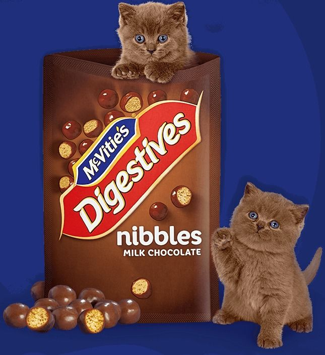 McVitie's Digestive Nibbles Milk Chocolate Balls Easter Special Gift 120g NEW #McVities