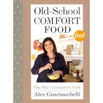 Old-School Comfort Food by Alex Guarnaschelli, available at the Food Network Store: Network Cookbooks, Favorite Cookbooks, Heart Cookbooks, Alex Guarnaschelli Recipes, Hardcover Books, Reading Pure Relaxation, Books Galore, Comfort Foods
