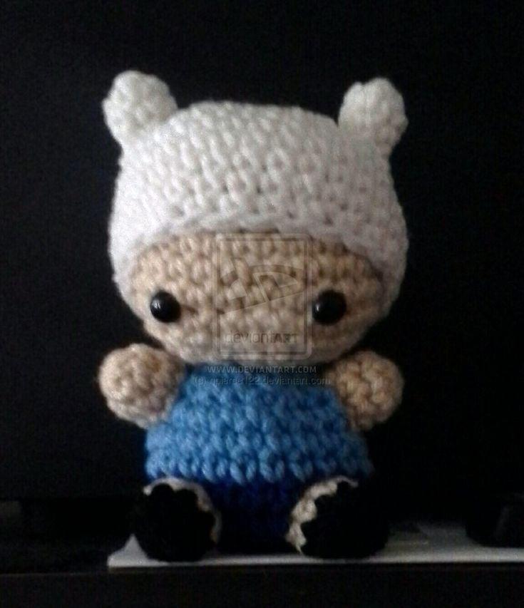 Finn the Human - Adventure Time  Crochet Amigurumi by npierce122.deviantart.com on @deviantART