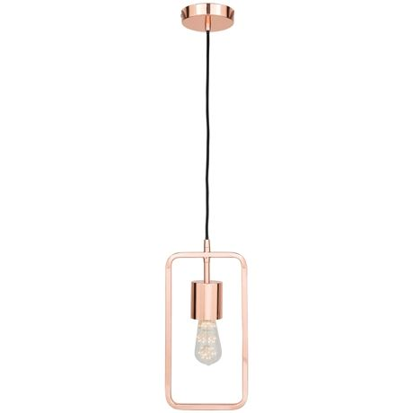 Outline Rectangle Ceiling Pendant | Freedom Furniture and Homewares