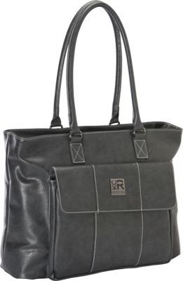 Kenneth Cole Reaction Let's Compare Laptop Totes Grey - via eBags.com!