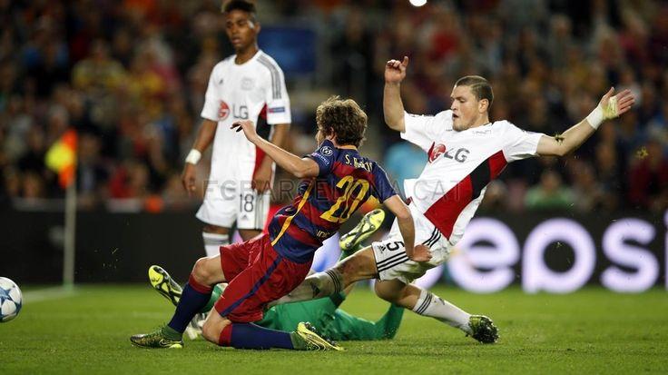 Gooooool del FC Barcelona - Bayer Leverkusen (2-1) | FC Barcelona