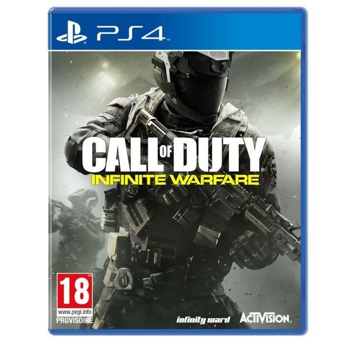 69.90 € ❤ #BonPlan #PS4 - Call of Duty : #InfiniteWarfare Jeu PS4 ➡ https://ad.zanox.com/ppc/?28290640C84663587&ulp=[[http://www.cdiscount.com/jeux-pc-video-console/ps4/call-of-duty-infinite-warfare-jeu-ps4/f-1030401-5030917197147.html?refer=zanoxpb&cid=affil&cm_mmc=zanoxpb-_-userid]]