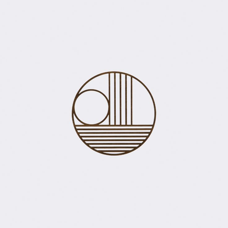 Outline Trivet - Circle - Untersetzer - FERM LIVING