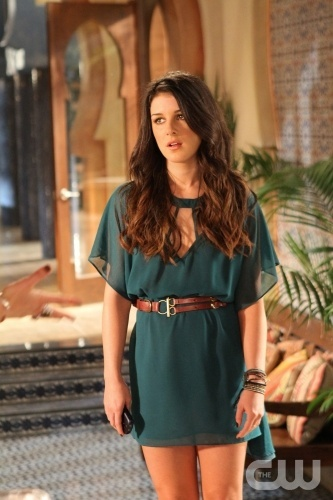 """Smoked Turkey""--Shenae Grimes as Annie Wilson on 90210 on The CW. Photo: Scott Alan Humbert/The CW. ¨©2011 The CW Network. All Rights Reserved."