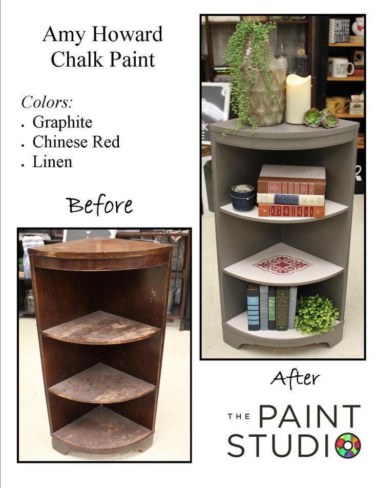 Check out this gorgeous DIY painted bookshelf one of our associates did!   #DIY #PAINT #AMYHOWARD #RESTORE #KIMPSACEHARDWARE #PAINTSTUDIO #LEARNEDITATKIMPS