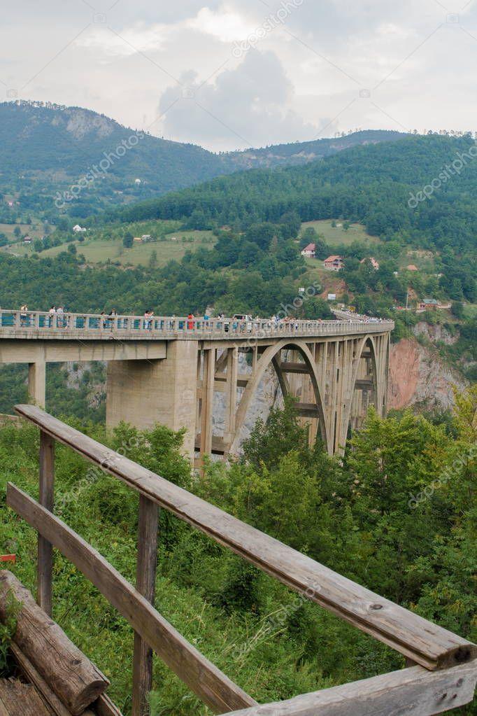 Mountain Landscape Montenegro Durdevica Tara Arc Bridge Mountains Stock Picture Spon Durdevica Tara Montenegro Mountain Ad
