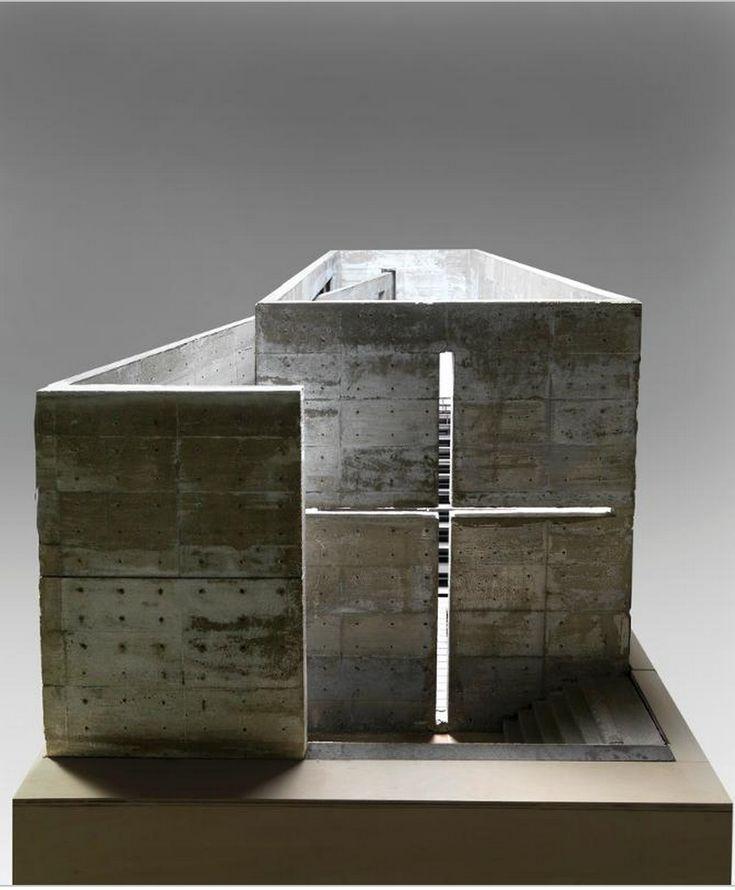 Tadao Ando maquette @brinkworthUK