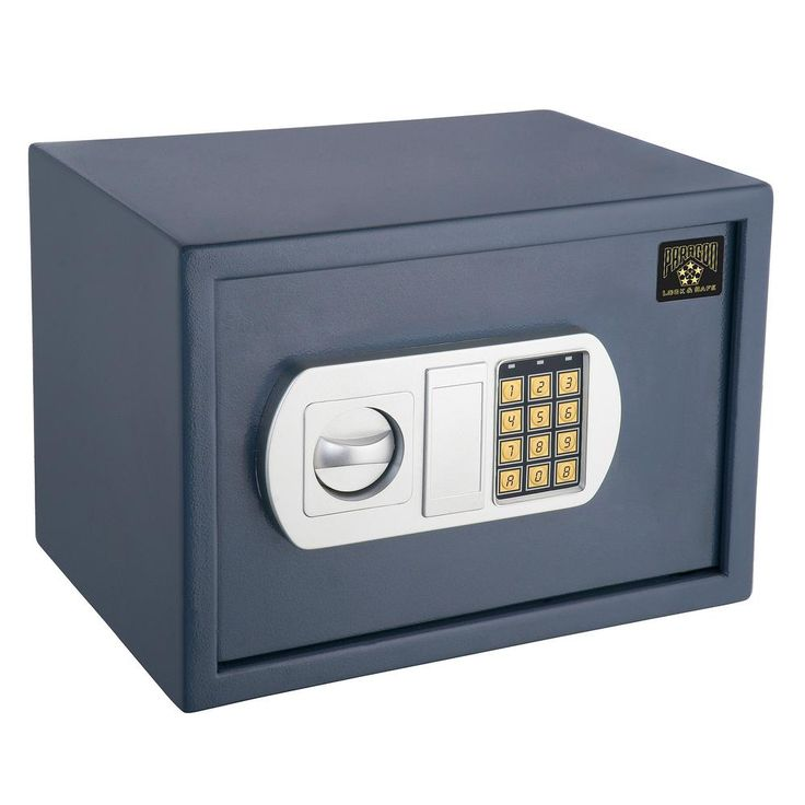 ParaGuard Elite Safe 0.53 CF Heavy Duty Home or Office Safe, Gray