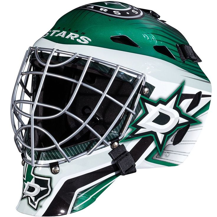 Franklin Youth Dallas Stars GFM 1500 Street Hockey Goalie Face Mask, Multicolor