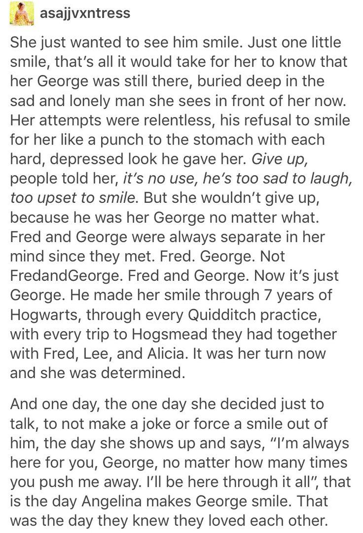 Angelina Johnson, Harry Potter, hp, George Weasley, Fred Weasley