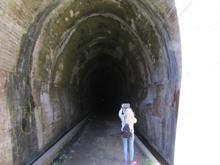 Catamarca, La Merced Tunel ferroviario en desuso