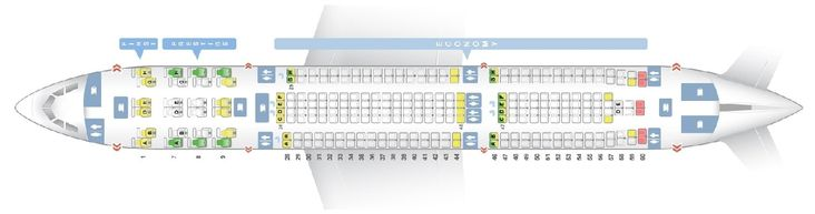 Seat Map And Seating Chart Airbus A330 300 Korean Air 272 Seats Turkish Airlines Airbus Airlines