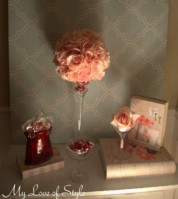 Diy pomander on candle holder leave a reply quot rose