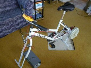 Stationary Bike Generator From Washing Machine: 4 Steps (with Pictures)