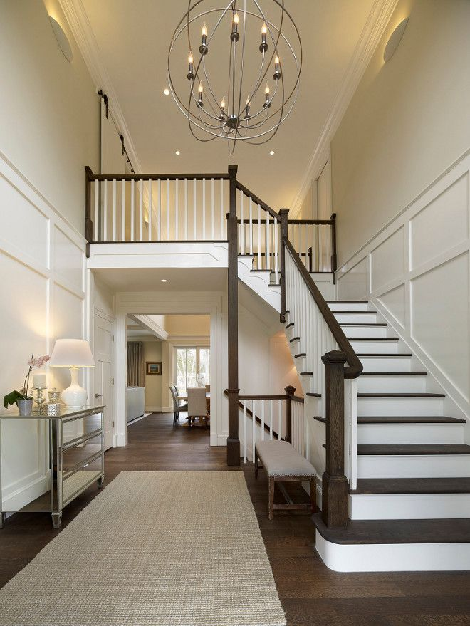 Best 25 two story foyer ideas on pinterest 2 story for Foyer staircase ideas
