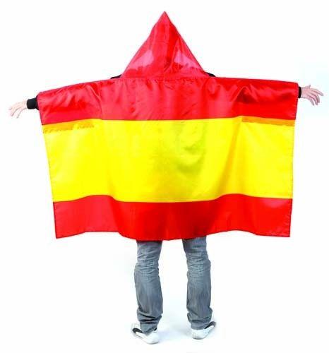 Forma de capa, tamaño cuerpo con gorro, selección española de fútbol. Dimensiones: 3,3x20,3x3,3 cm #BanderaEspaña #articulsopublicidad #articulosmerchandising