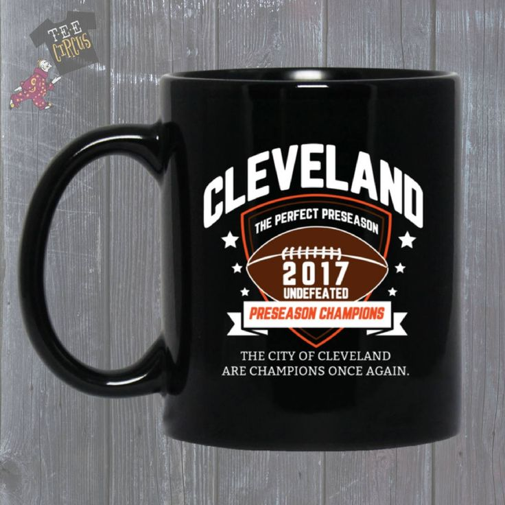 Cleveland Browns Mug - Cleveland Browns Preseason Champs - Cleveland Browns Undefeated - Browns 2017 - Preseason Champs - CLE - Funny Mugs by TeeCircus on Etsy https://www.etsy.com/TeeCircus/listing/557556538/cleveland-browns-mug-cleveland-browns?utm_source=Copy&utm_medium=ListingManager&utm_campaign=Share&utm_term=so.lmsm&share_time=1511230056083