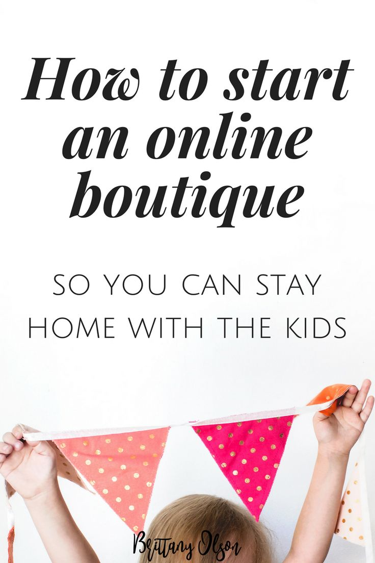 How to start an online boutique. What you need to start an