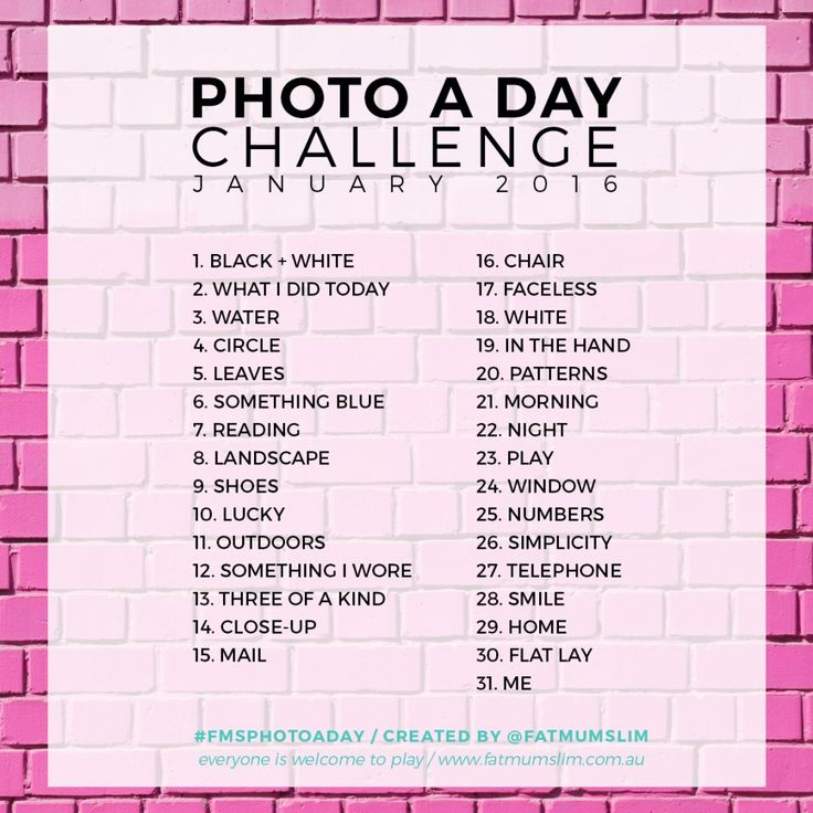 Photo A Day Challenge // January 2016