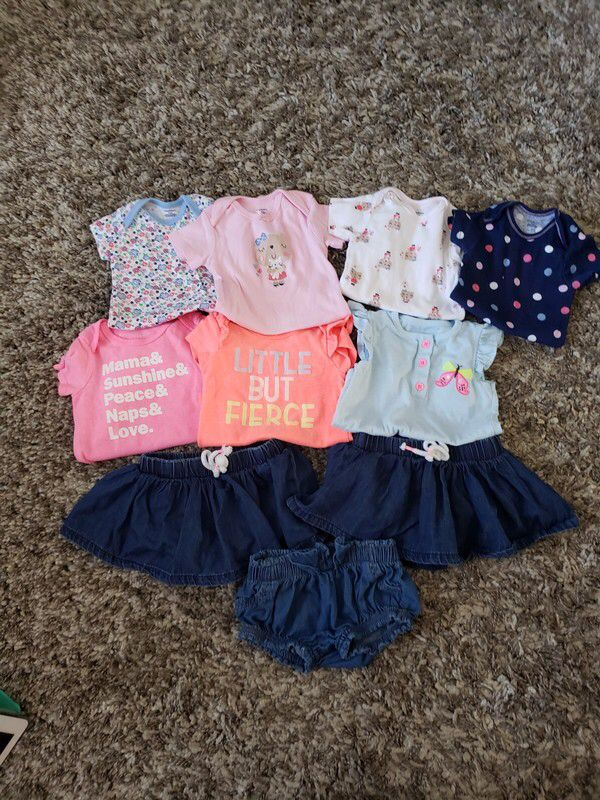 26c255afada My Baby Girl 3-6M Outfits by Cat + Jack. Size 3-6