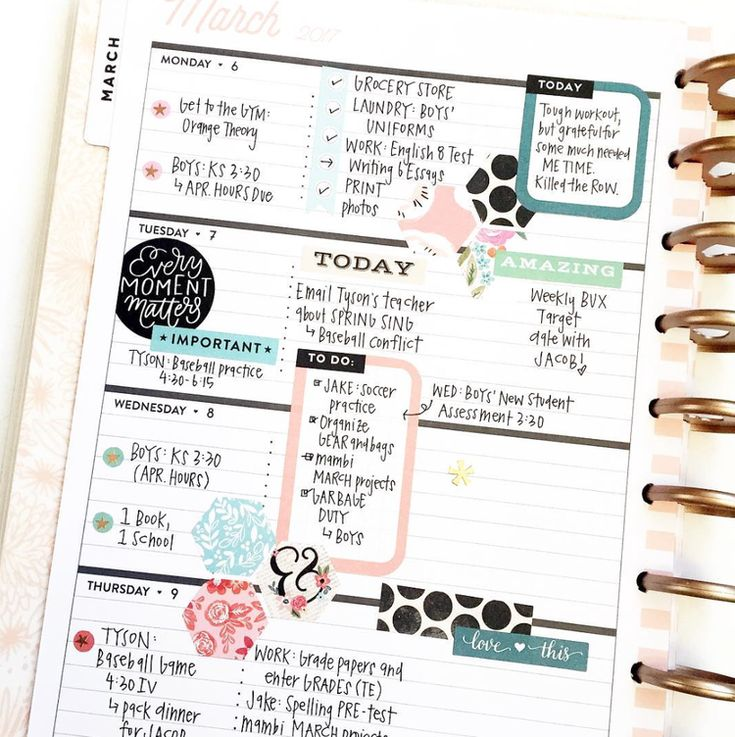 00.JPG1 month, 1 sticker book in the 'Rose Gold' Horizontal Happy Planner® by mambi Design Team member April Orr | me & my BIG ideas